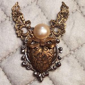 Vintage Angels of Love pin